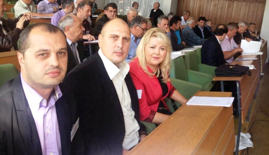 Milan Petrić, Željko Veselinović i Mira Vasić