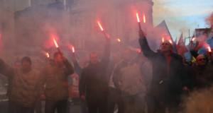 ZAVRŠEN PROTEST SRPSKOG SINDIKALNOG FRONTA