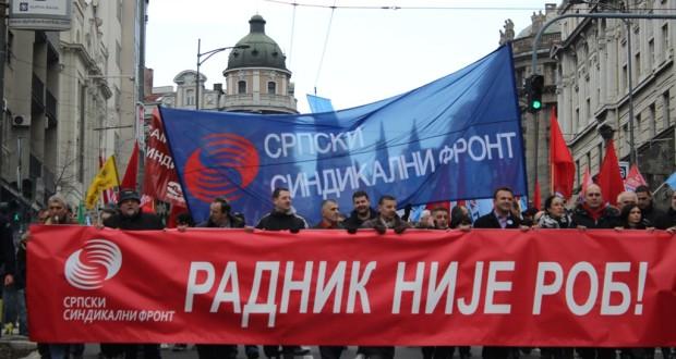 """Na današnji dan: Veliki radnički protest """"Radnik nije rob!"""""""