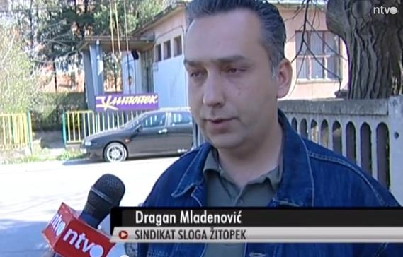 Standard zaposlenih je ugrožen jer oni ne mogu da servisiraju svoje porodične obaveze, upozorava Dragan Mladenović, predsednik Sindikata Sloga – Žitopek.
