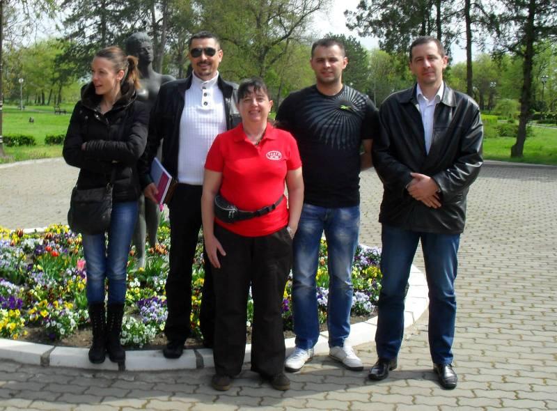 Nataša Gligorijević, Predrag Adamov, Danijel Paunović, Aleksandar Knežević i Svetlana Garčević –Petko.