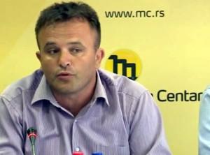 Glišo Vidović, predsednik Sindikata srpske policije