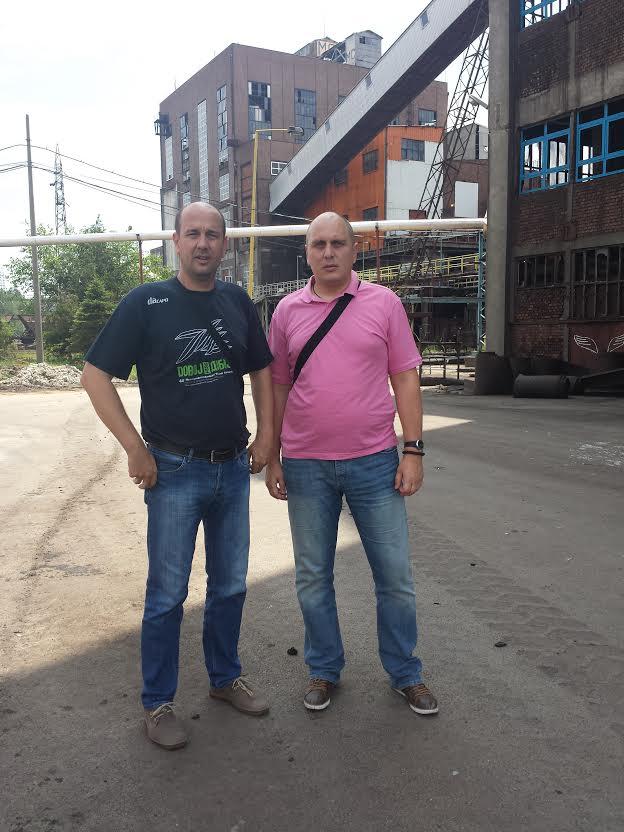 Predrag Kotlajić i Željko Veselinović