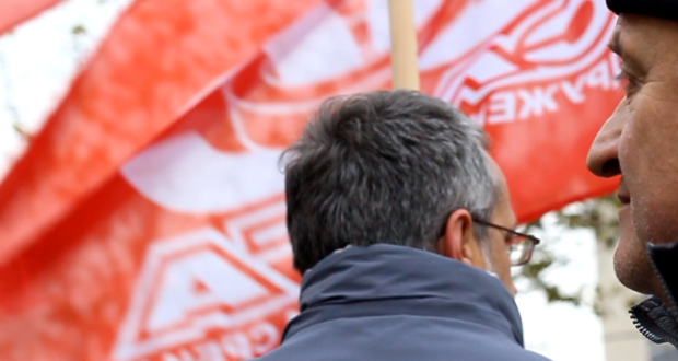 "Sloga podržala protest zakupaca i radnika ""Depoa"""