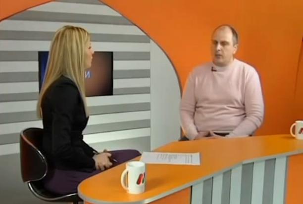 "Veselinović  u emisiji ""Popodne"" na  RTV ""Kanal M"" Paraćin"