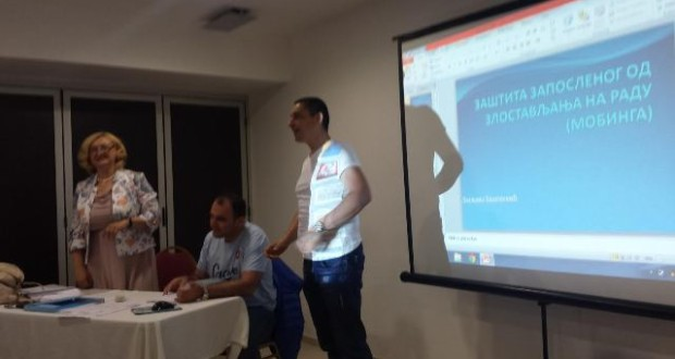 Seminar mobing, zaštita zaposlenog od zlostavljanja na radu
