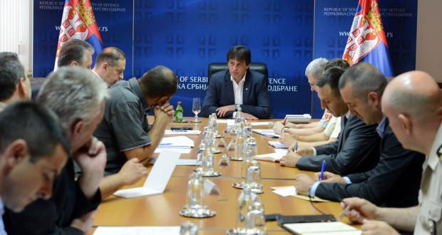 Nastavljen dijalog sa predstavnika sindikalnih grupa sa ministarstvom odbrane