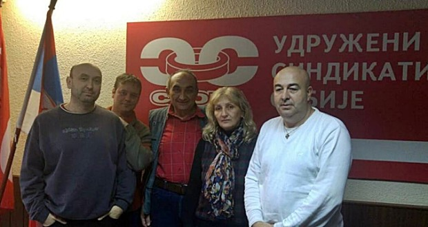 Formiran Sindikat Sloga železnice Srbije