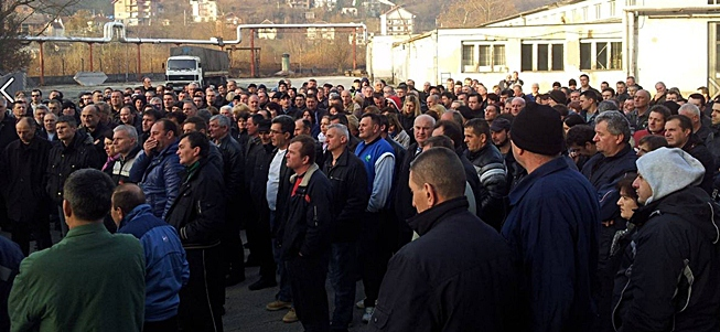 Počeo štrajk glađu radnika FAP-a