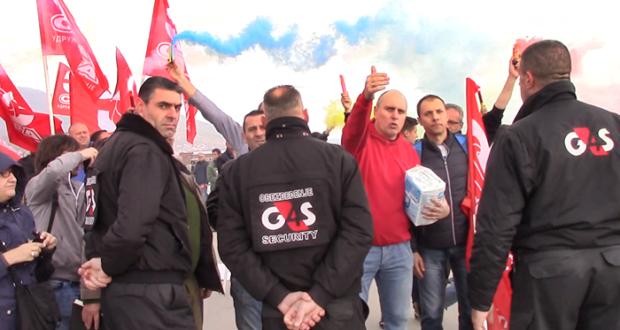 Sloga održala protest ispred Geoksa u Vranju