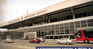 "Protest sindikata Aerodroma ""Nikola Tesla"""