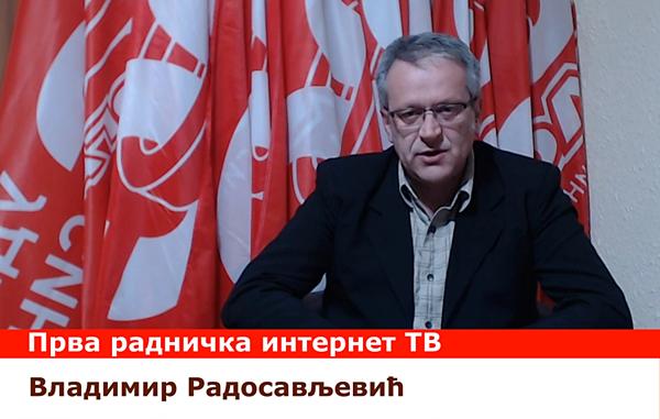 Sloga pokrenula prvu radničku internet TV u Srbiji
