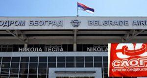 Радници земаљског сервиса Ер Србије од данас у склопу Аеродрома