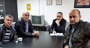 Председник Слоге у посети колегама у Костолцу