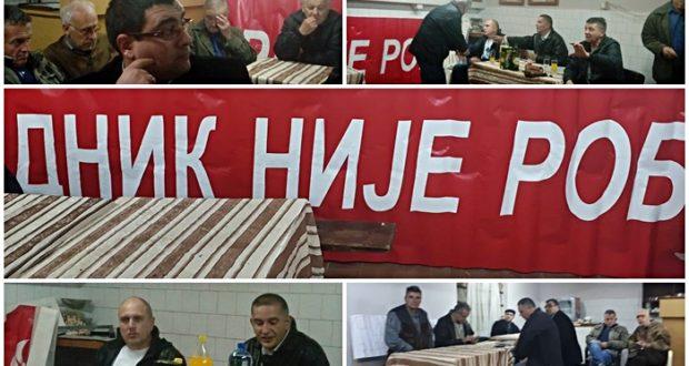"""Основано Удружење грађана за заштиту радника Аренђеловца """"Радник није роб!"""""""