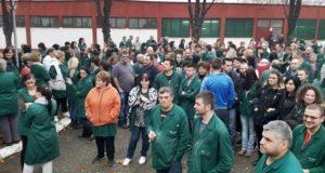 """Одржан штрајк упозорења у италијанској компанији """"Falc East"""". Радници поручили да не желе да буду робови у својој држави, траже колективни уговор!"""