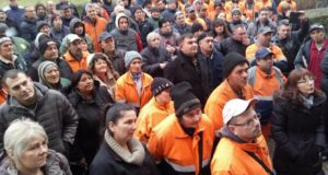Održan štrajk upozorenja u JKP Stari Grad Šabac