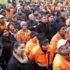 Одржан штрајк упозорења у ЈКП Стари Град Шабац