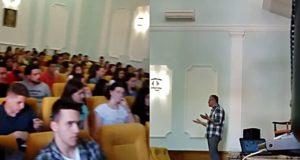 Слога са ученицима средњих школа у Горњем Милановцу