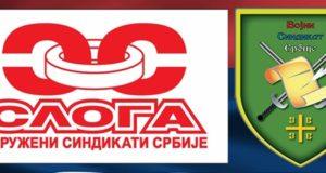 Podrška Novici Antiću i Vojnom sindikatu Srbije
