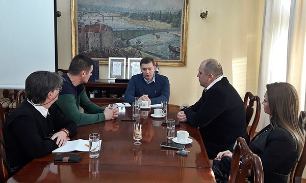 Delegacija Sloge razgovarala sa gradonačelnikom Šapca