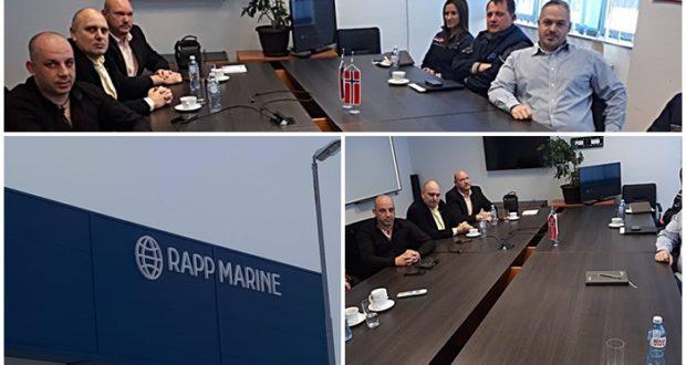 """Sloga reprezentativna u norveškoj kompaniji """"Rapp Marine Zastava"""""""