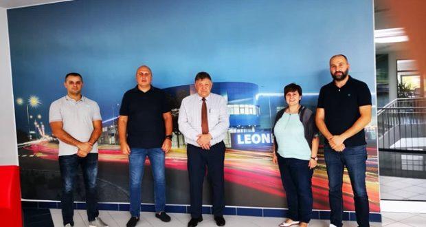 Veselinović obišao fabriku Leoni