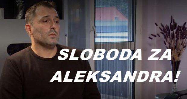 Na međunarodni dan ljudskih prava tražimo slobodu za Aleksandra Obradovića