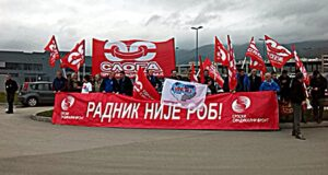 Sloga: Protesti su socijalni bunt, a ne politički