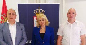 Održan sastanak sa ministarkom Darijom Kisić Tepavčević