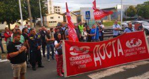Održan protest radnika JP Pošta Srbije