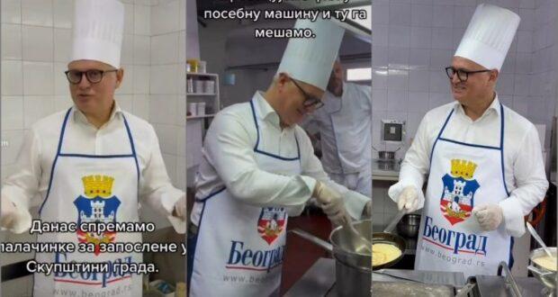 Ima li Goran Vesić sanitarnu knjižicu?