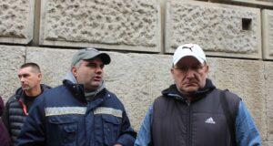 Prekinut protest ispred pošte u Zrenjaninu