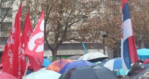 Održan protest radnika prosvete