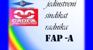Najava štrajka radnika FAP-a