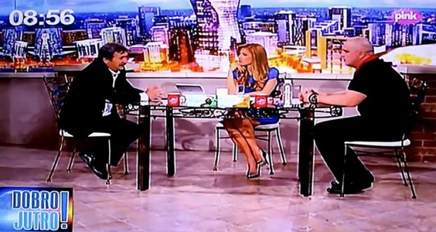 Veselinović  na TV Pink: Svaki dan je 1. maj