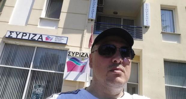"""Iz Grčke: Željko Veselinović, predsednik Udruženih sindikata Srbije """"Sloga"""""""