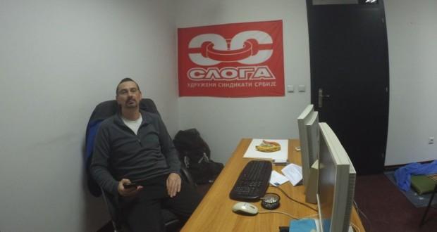 Poruka radnicima Srbije: Štrajk glađu i dalje traje