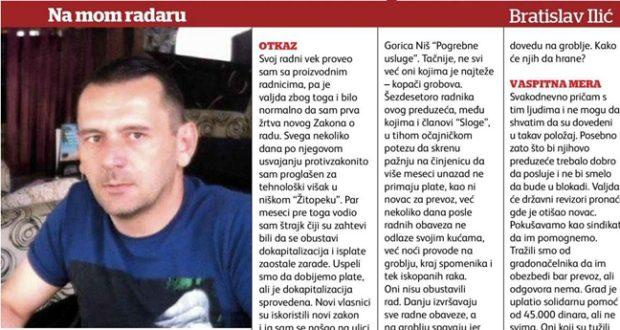 NA MOM RADARU: Bratislav Ilić