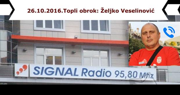 Veselinović: Vratiti menze na radna mesta