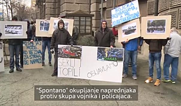 """Protest Sloge zbog """"spontanog okupljanja"""" građana"""