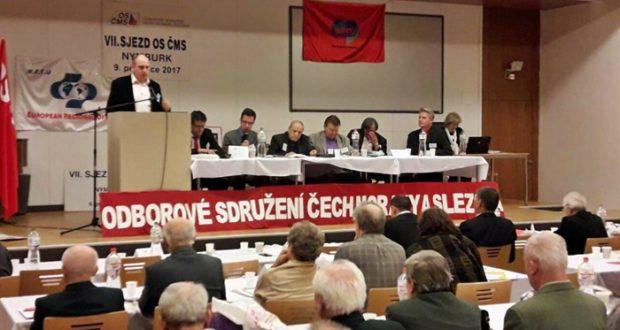 Sloga na Kongresu Udruženih sindikata Češke, Moravske i Šleske