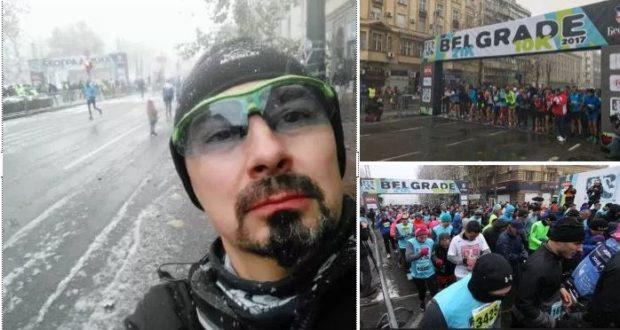 Predsednik sindikata istrčao 1. Beogradski polumaraton