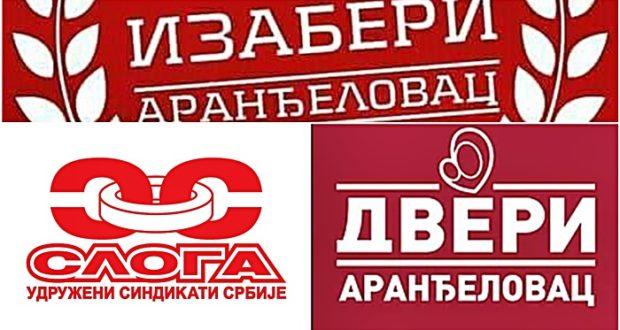 Sloga sa Dverima na lokalnim izborima u Aranđelovcu