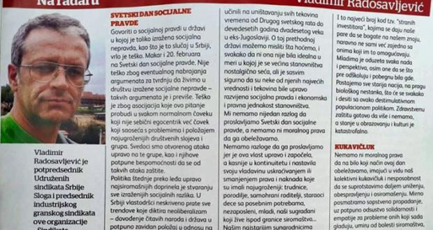 NA RADARU – Vladimir Radosavljević