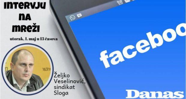 Sindikat Sloga 1. maja odgovara na Fejsbuku