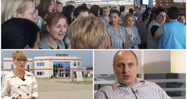 VIDEO: Radnici smederevskog Kaizena se žale na loše uslove rada