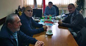 Veselinović u poseti JKP Čistoća Kraljevo