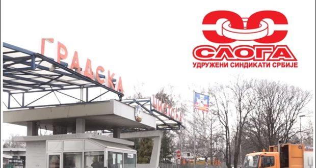 PODLO: Otkaz predsedniku Sindikata vozača i mehaničara u JKP Gradska čistoća