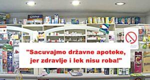 Sprečiti sramnu odluku o gašenju državnih apoteka u Leskovcu